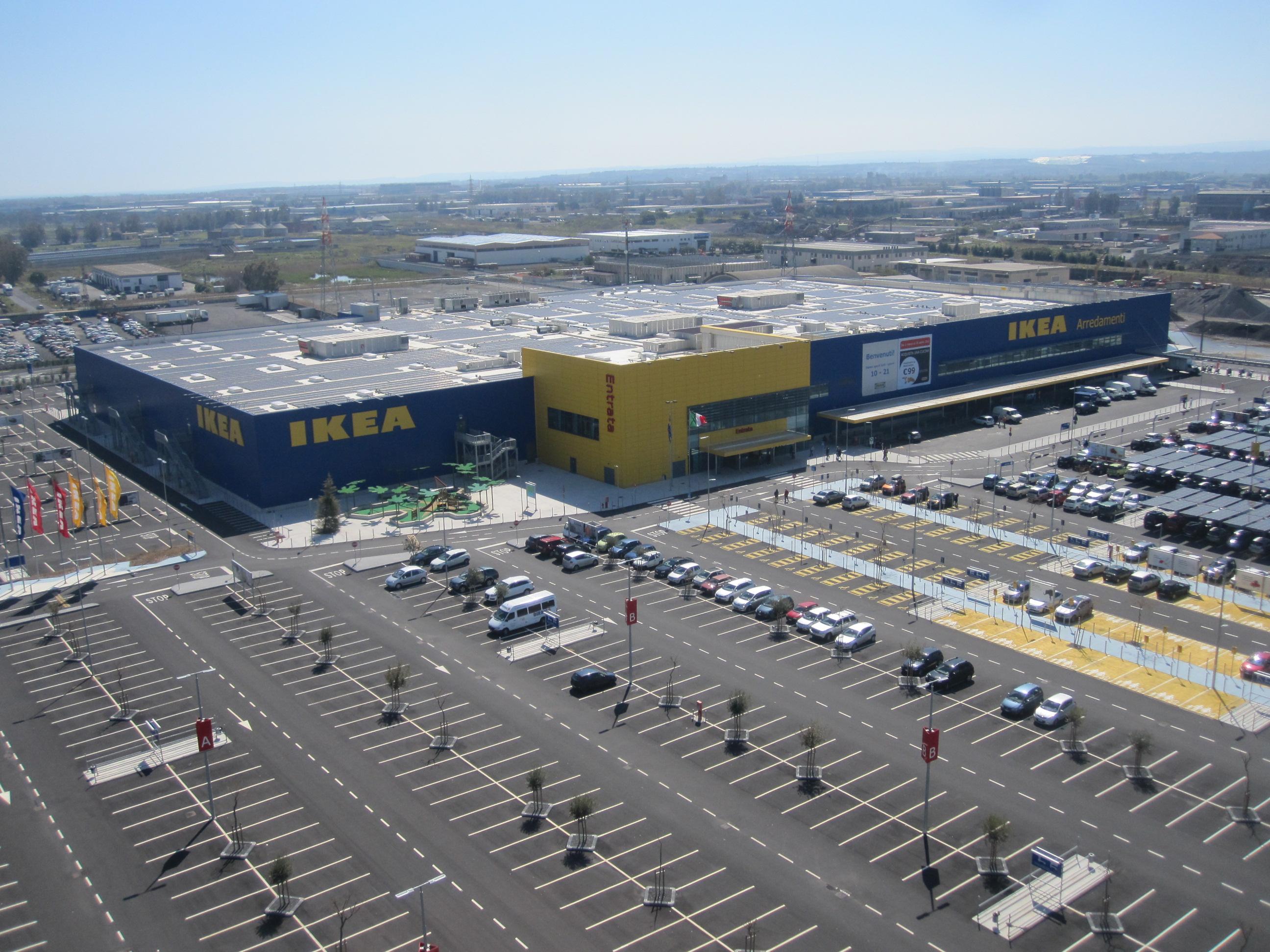 Ikea store di catania gff impianti for Ikea catania